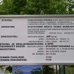 V Českých Budějovicích se staví nová lávka.