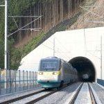 Nové železniční tunely.