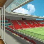 Začínají přípravné práce pro stavbu nového fotbalového stadionu SK Slávie.