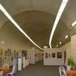 V Litoměřicích je železnční tunel, který se změnil ve výstavní síň.