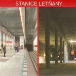 Ze stanice metra Letňany vyjeli první cestující.