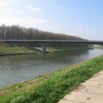Most přes řeku Moravu bude uzavřen do konce května 2007.
