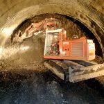 Jak pokračují práce na stavbě tunelu u Lochkova?
