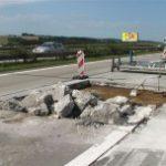 Opravy betonové vozovky na dálnice D1 provází nutná omezení provozu.