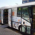 Bezplatná autobusová linka mezi stanicí metra Budějovická a BB Centrum.