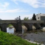 Svatojánský most v Litovli.