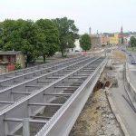 V Ostravě se v centru města staví nový most.