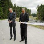 Přeložka silnice II/163 ve Vyšším Brodě je dokončena.