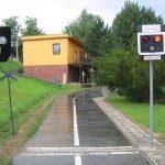 Ve Zlíně mají dopravní hřiště s železničním přejezdem