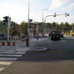 Opravený Štefánikův most vítá řidiče.