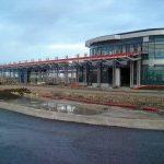 Dopravní terminál u stanice metra Letňany ukazuje svou tvář