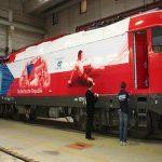 Na našich tratích bude jezdit lokomotiva v barvách národního fotbalového týmu