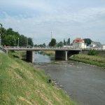 Průjezd v Kroměříži komplikuje rekonstrukce mostu