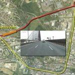 Oprava mostu na Jižní spojce si vyžádala neodkladné dopravní omezení