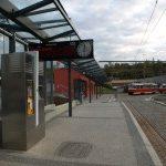 Nová tramvajová trať vede až ke stanici metra Radlická