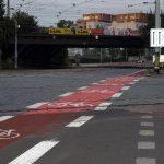 První část pilotního projektu pro cyklisty byla realizována na Vršovické ulici
