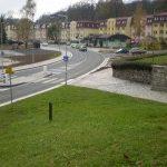 V Aši byl zprovozněn další úsek rekonstruovaného průtahu městem