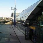 Rajská zahrada patří mezi pozitivně laděné stanice metra