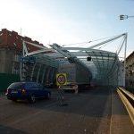 Město Hradec Králové má nový protihlukový tunel