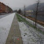 Protipovodňový val chrání obyvatele Střekova v Ústí nad Labem