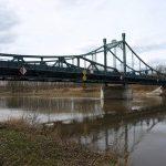Štěpánský most v Obříství je chráněnou technickou památkou