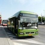 V pražských ulicích se testuje nový autobus Volvo