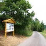 Nová cyklistická trasa láká cyklisty do Purkarce