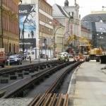 Výraznou změnou projde tramvajová trať ve Spálené ulici