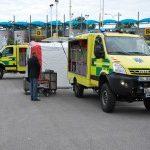 Záchranná služba Jihočeského kraje převzala čtyři nové terénní vozy pro zásah při mimořádných událostech