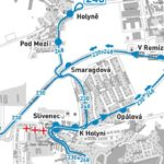 Za Farou: dočasné zrušení autobusové zastávky