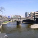 V centru Plzně se opravuje most