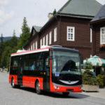 Arriva Morava vyzkoušela v Jeseníkách nový elektrobus