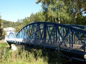 Kyselka - most přes Ohři