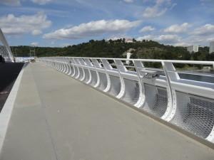 Trojský most foto L.B. 20.8.2014