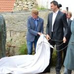 23.8.2014 – odhalení sochy Josefa Švejka na cestě k mostu v Putimi