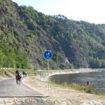 Do Vraného nad Vltavou vede nová cyklostezka