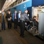 Zástupci železniční unie jednali v Praze o bezbariérové dopravě