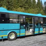 Na lince z Karlovy Studánky na Ovčárnu jezdí elektrobus