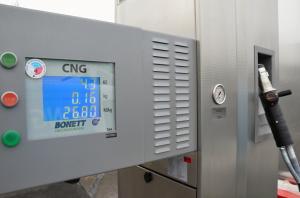 Vydejni stojan CNG