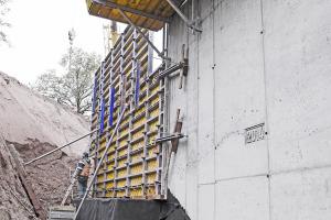 betonování mostovky