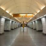 Stanice metra ve fotografiích (Českomoravská)