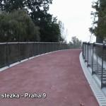 Cyklistická stezka – Praha 9