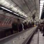 Eskalátory ve stanici Petřiny