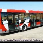 SOR CITY NB 12  pro Veolia Transport Východní Čechy a. s.