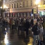 """Oslavy 17.11.2009 – 20 let po """"Sametové revoluci"""" – u Národního divadla"""