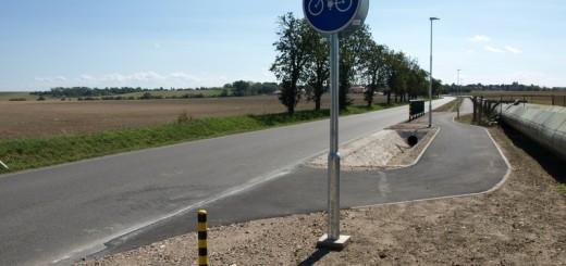 cyklostezka z Nemošic do Ostřešan