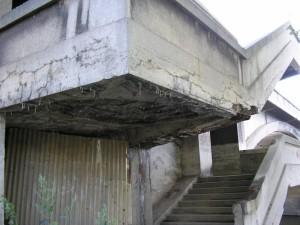 Libeňský most - schodiště
