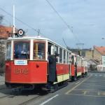 Historické tramvajové soupravy vyráží do pražských ulic