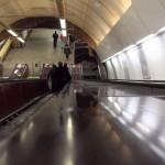 Eskalátor na přestupu linky B-C – Florenc