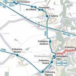 Dočasná změna trasy a zastávek pro linky 363, 385 a 605 – aktualizováno